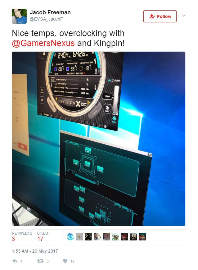 EVGA GeForce GTX 1080 Ti KINGPIN Edition - An Overclockers