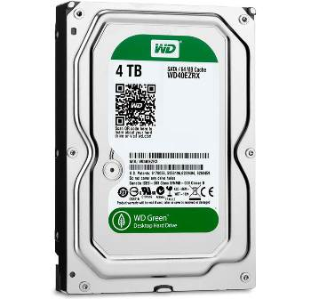 New WD Green 4TB (WD40EZRX) Hard Drive with IntelliPower 64MB – Now Available