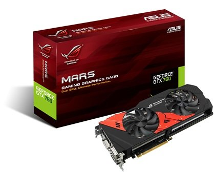 ASUS ROG MARS GTX 760 (MARS760-4GD5) Released – Featuring Dual GK104 GPUs