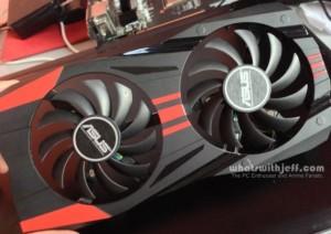 Asus GTX760-DC2OC-2GD5 fans front