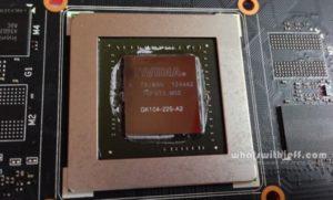GK104 Kepler Silicon on Asus GTX 760 OC