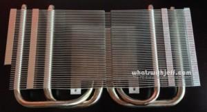 Asus DirectCU II heatsink front