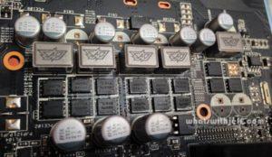 Asus GTX 760 DirectCU II OC Super Power Alloy Capacitors