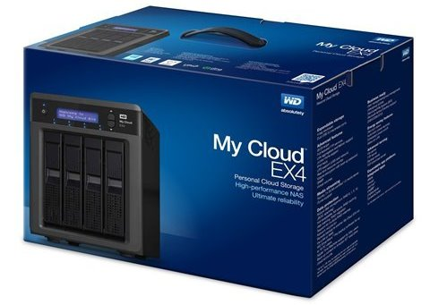 Western Digital My Cloud EX4 NAS