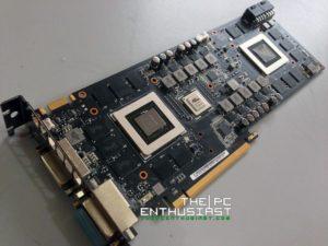 Asu ROG MARS PCB front angle