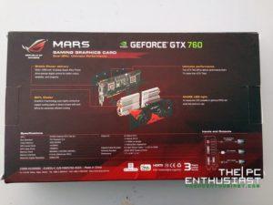 Asu ROG MARS box back