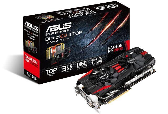 Asus Radeon R9 280X DirectCU II TOP 3GB Review
