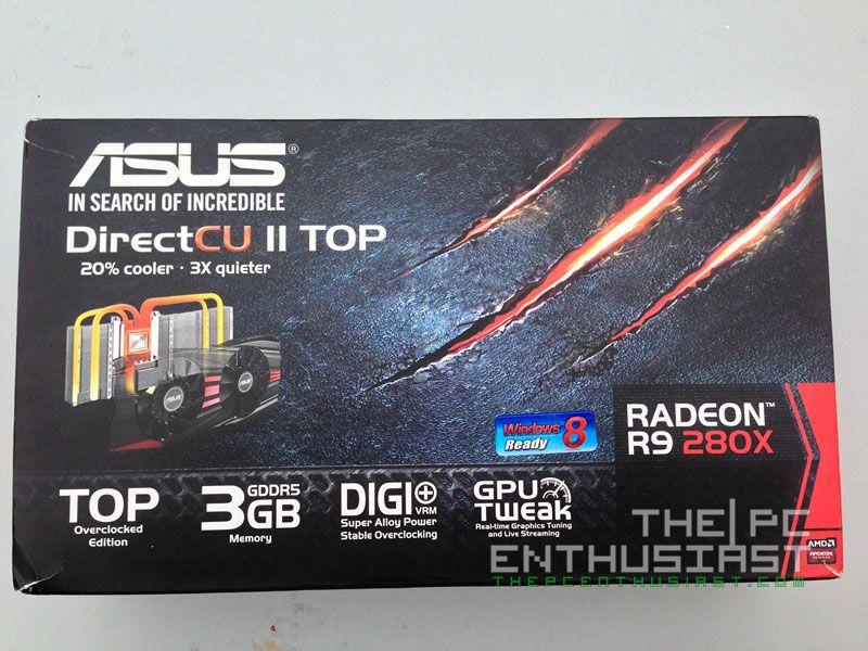 Asus Radeon R9 280X DirectCU II TOP 3GB (R9280X-DC2T-3GD5) Review