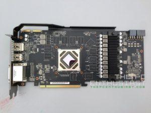 Asus R9280X-DC2T-3GD5 PCB Front