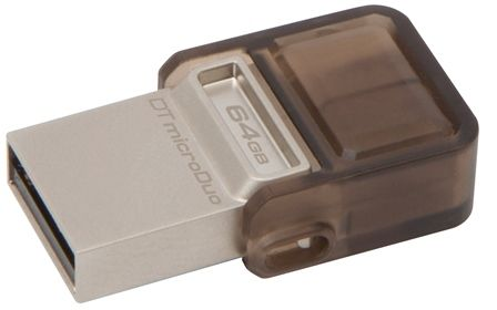 Kingston DataTraveler microDuo – A Dual Interface USB for Android Smartphones and Tablets