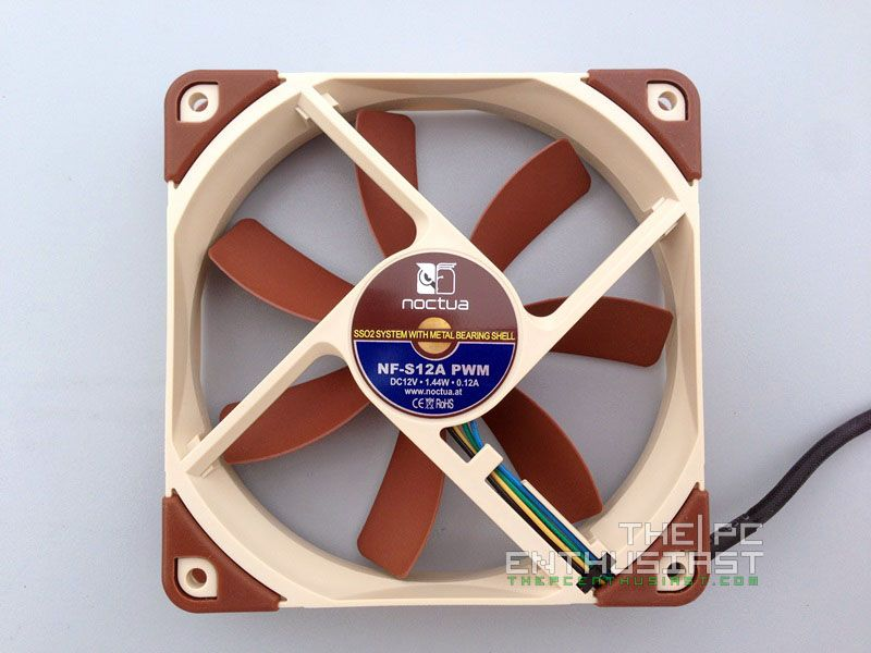 Noctua NF-S12A (PWM, FLX, ULN) Series Review - A Must Have