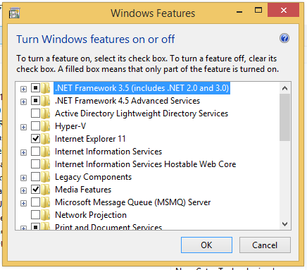 How To Install and Activate  Net Framework 3 5 in Windows 8 / 8 1