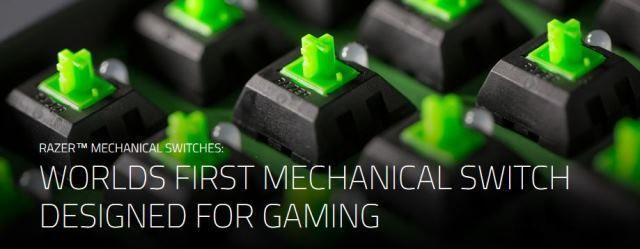 razer green mechanical switch