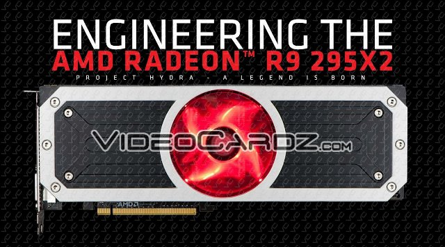 AMD Radeon R9 295X2 with Project Hydra Cooler
