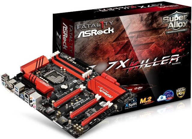 Asrock Z97X Killer motherboard