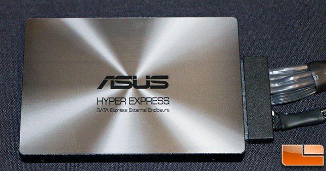 Asus Hyper Express SATA Express Enclosure