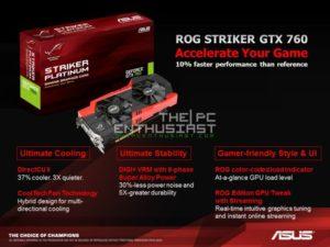 Asus ROG GTX 760 Striker Platinum