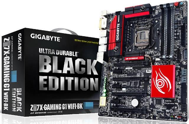 Gigabyte GA-Z97X-Gaming G1 WiFi Black Edition Z97 Motherboard Revealed