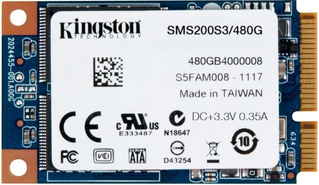 Kingston SSDNow mS200 240GB and 480GB mSATA SSD