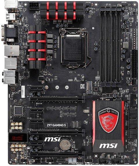 MSI Z97 Gaming 5 Specs
