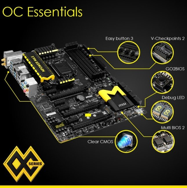 MSI Z97 MPOWER MAX Motherboard