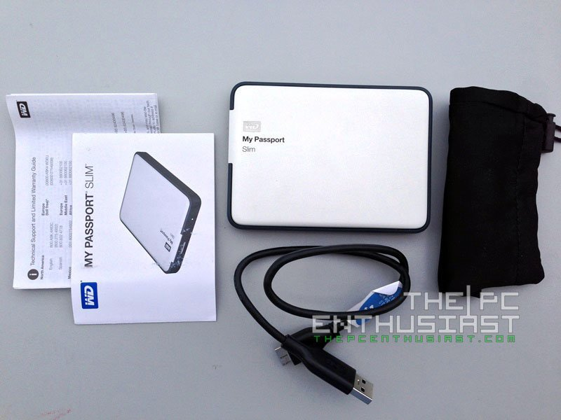 WD My Passport Slim 1TB Review - A Nice Portable Drive with