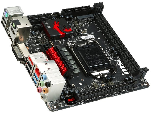msi b85i gaming price and release date