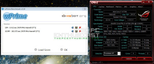 wprime result with core i7 4770k OC