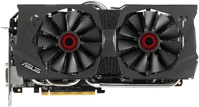 ASUS STRIX R9 280 OC Edition Specifications