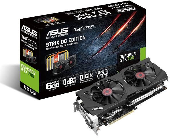 Asus GeForce GTX 780 STRIX OC 6GB GDDR5 Edition