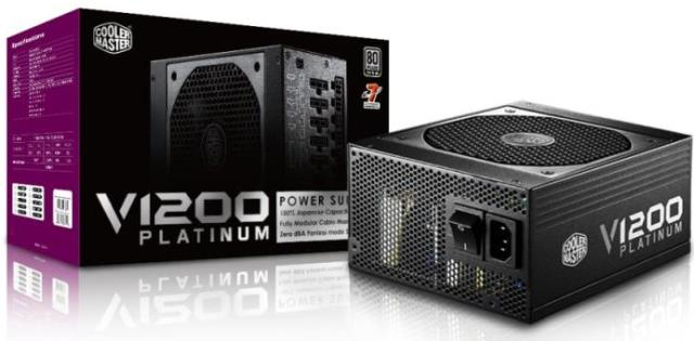 Cooler Master V1200 Platinum Full Modular PSU
