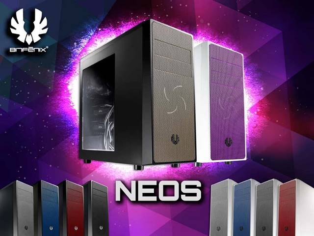 BitFenix Neos Mid Tower Case Released – Choose From Several Different Colors