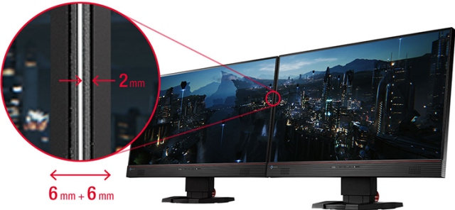EIZO Foris FS2434 Gaming Monitor Released- Features 6mm Ultra-Slim Frame