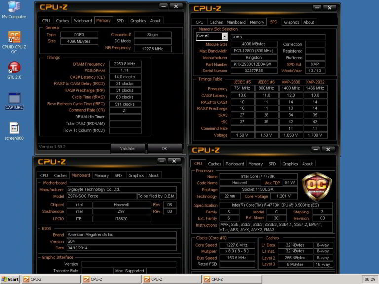 Kingston HyperX DDR3 Memory Sets Overclocking World Record Mark at 4500MHz, Partners with HWBOT