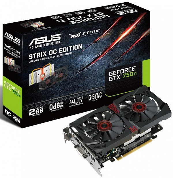Asus Strix GTX 750 Ti OC Graphics Card Unleashed – See Features and Specifications