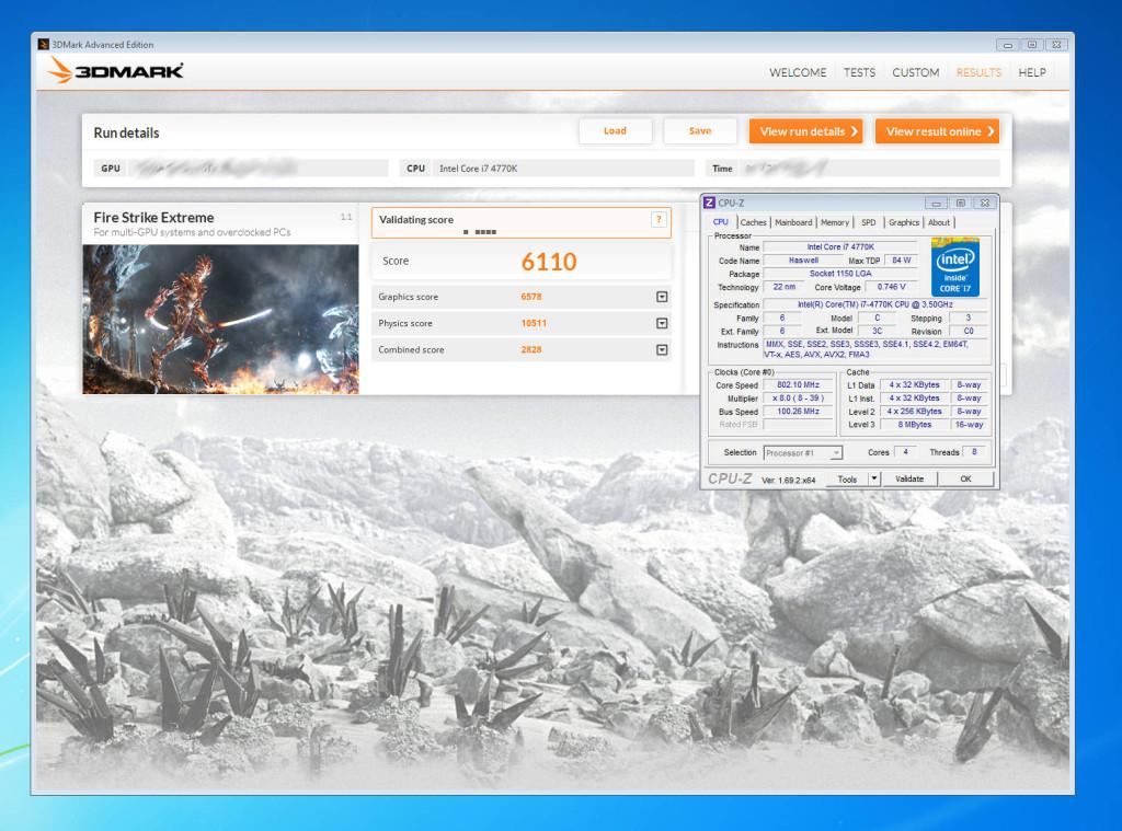 NVIDIA GeForce GTX 880 3DMark FireStrike Extreme Benchmark