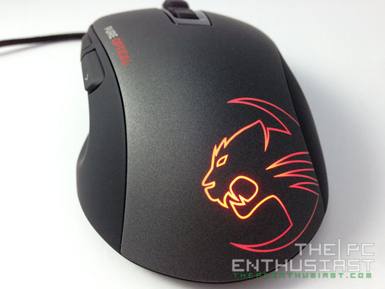 Roccat Kone Pure Optical Review with Roccat Raivo Gaming Mousepad