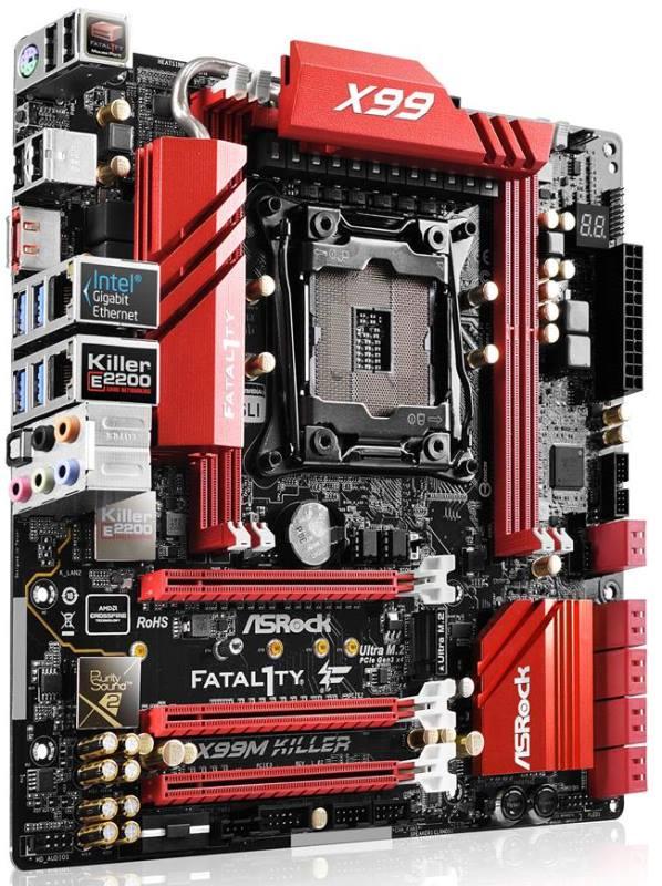 ASRock X99M Killer Fatal1ty X99 micro ATX motherboard