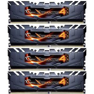 Black G.Skill Ripjaws 4 DDR4
