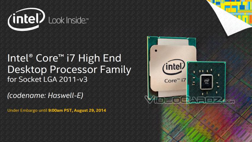 Intel Core i7 Haswell-E Processors