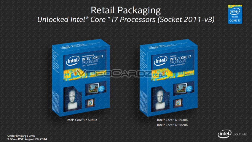 Intel Core i7 Haswell-E price and availability