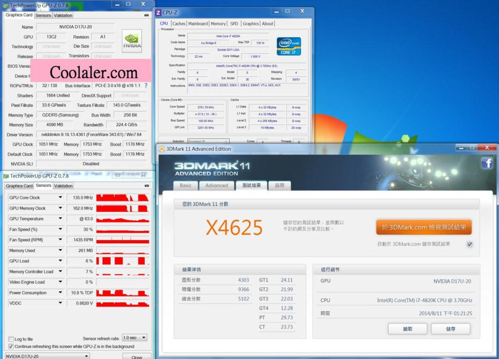 NVIDIA GeForce GTX 870 Benchmark leaked