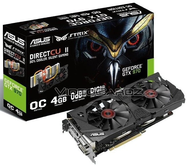 Asus STRIX GTX 970 OC 4GB