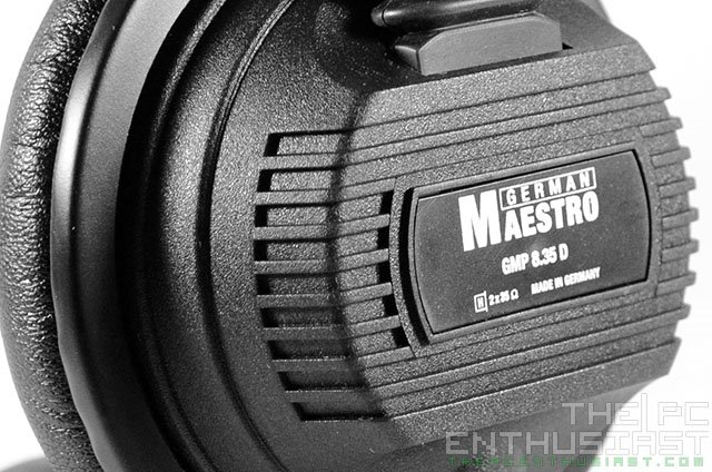 German Maestro GMP 8.35 D Monitor Headphone Review