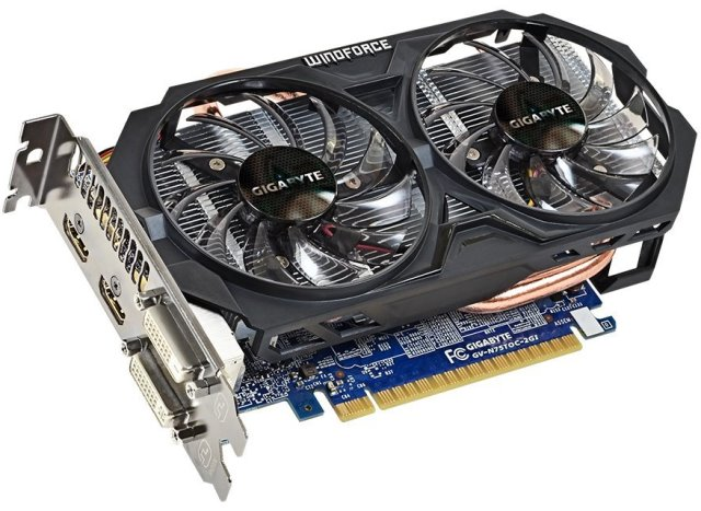 Gigabyte GeForce GTX 750 Ti OC Review (GV-N75TOC-2GI) – Featuring WindForce Cooler