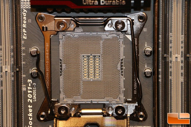 Gigabyte X99 SOC Force LN2 Special LGA-2011v3 socket more pins