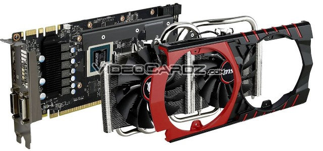 MSI GeForce GTX 970 Gaming 4G Featuring Twin Frozr V Pictured