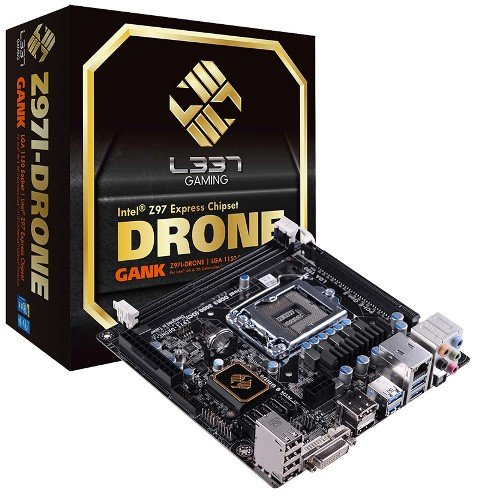 ECS Z97I-DRONE Mini-ITX L337 Gaming Motherboard-01