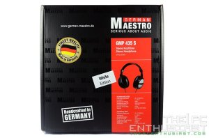 German Maestro  GMP 435 S White Edition Headphone Review-01