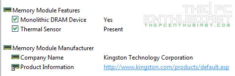 Kingston HyperX Predator DDR4 Thermal Sensor